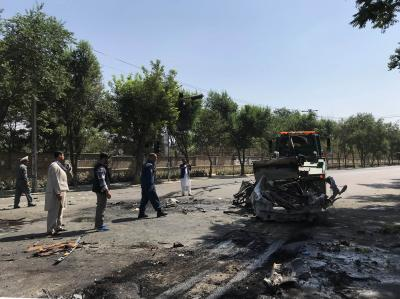 9 killed, 33 injured in blast outside Kabul University