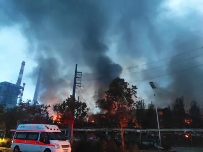 15 killed in China gas factory blast (Lead)