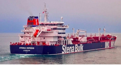 Crew of captured British oil tanker safe: Iranian official (2nd Lead)