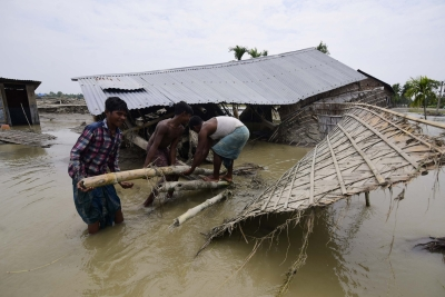 Assam flood situation worsensdeteriorates; 50 dead, 24 lakh hit