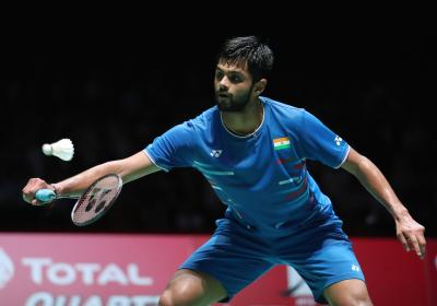 Praneeth settles for bronze after defeat to relentless Momota