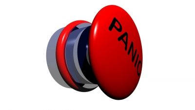 Panic buttons at road intersections in Lucknow