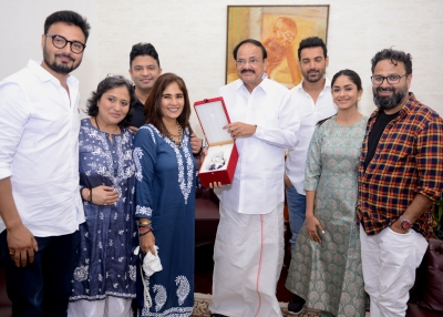 Vice President sends best wishes to 'Batla House' team (Lead)