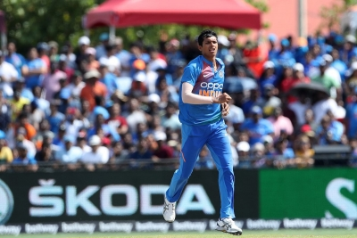 Saini stars on debut as India restrict Windies to paltry 95/9