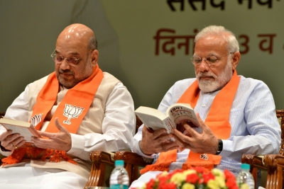 Modi, Shah urge Jharkhand to vote in large numbers