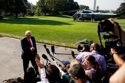 Trump plays down fear of US recession