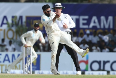 Galle Test: Patel's fifer jolts Lanka against Kiwis