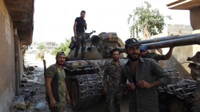 Rebels withdraw from key bastion in Syria