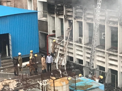 AIIMS opens Emergency ward, blamed for losses in fire (Lead)