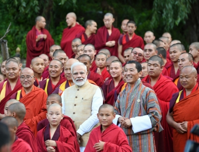 Modi seeks Bhutan's cooperation in new sectors (Lead)