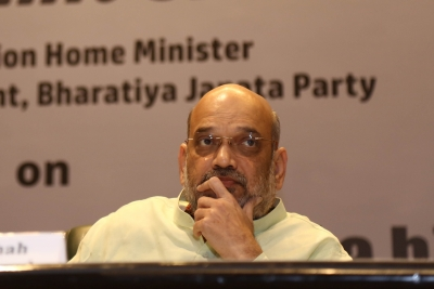 Home Minister Amit Shah meets J&K sarpanches