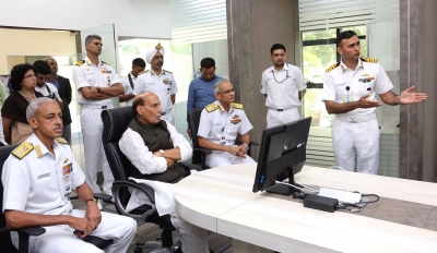 Rajnath briefed on enhancing Indian Ocean maritime security