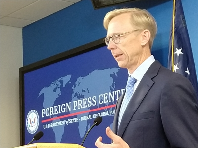 US special envoy to Iran steps down