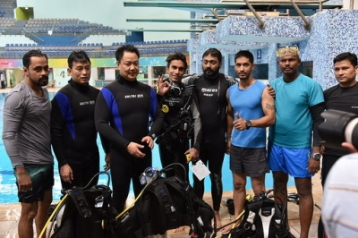 Kiren Rijiju, Bhaichung Bhutia dives for 'OP-Blue Freedom'