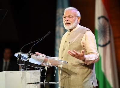 Took 70 years to remove what was temporary: Modi