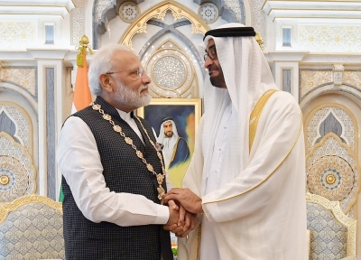 Modi conferred UAE's highest civilian honour