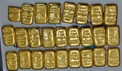Chennai Air Customs foils bid to smuggle gold, three held