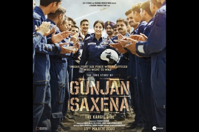 Gunjan Saxena Set Piece Biopic Manages To Regale Ians Review Rating British Asia News