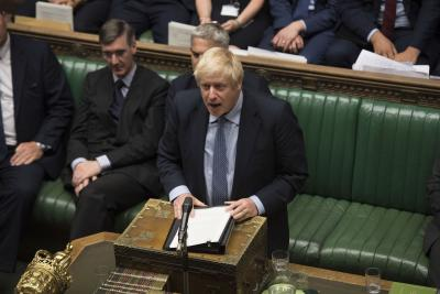 Johnson to 'see what judges say' on recalling Parliament