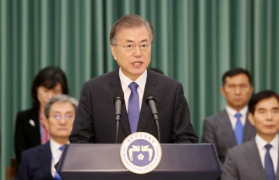 N.Korea-US to resume talks soon: Moon