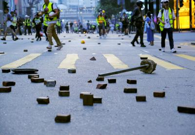 HK protest leader Jimmy Sham 'attacked with hammers'