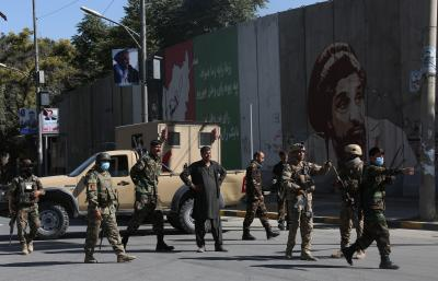 Seurity forces clash with local militia in Afghanistan