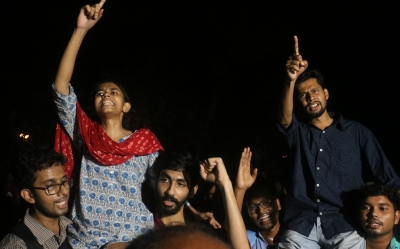 Left parties sweep JNU student polls
