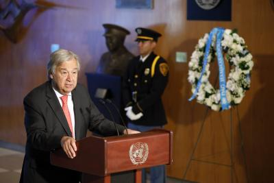 Guterres likely to raise Kashmir at UNGA discussions (Lead)