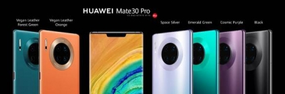 Huawei unveils 5G Mate 30 series with next-gen camera tech