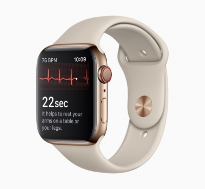 ECG app, irregular rhythm notification arrive on Apple Watch in India