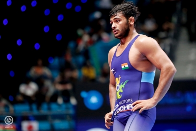 Injury forces Deepak Punia out of Wrestling Worlds final
