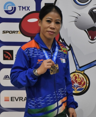 विभुषण,Ulan-Ude,India,MC Mary Kom