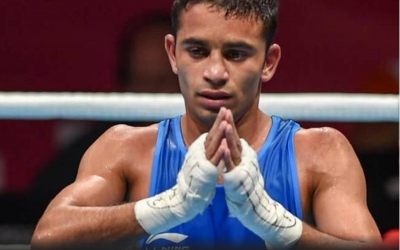 Was training with my coach, so didn't fall far behind in lockdown: Amit