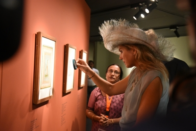 Dutch Royals open 'Age of Rembrandt' exhibition in Mumbai