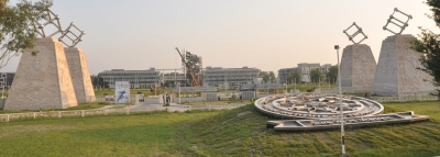 IIT Ropar gets tallest contemporary stone-carved pillars
