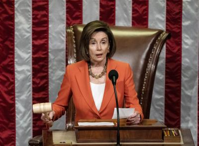 Impeachment of Trump to go ahead, says House Speaker Pelosi