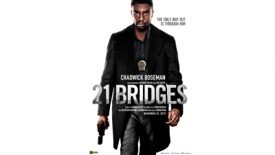 '21 Bridges' is slick but generic (IANS Review, Rating: ** & 1/2)