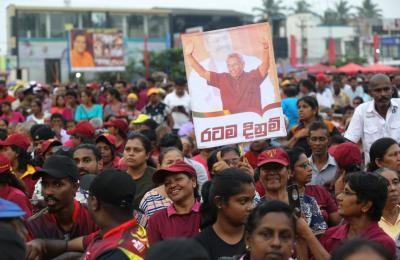 90 arrested in Sri Lanka ahead of prez polls