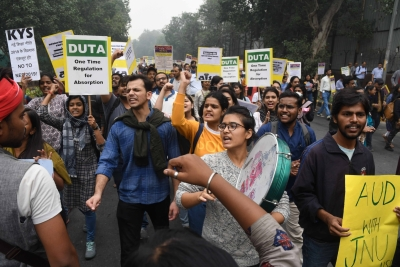 JNU students to intensify protest on Friday