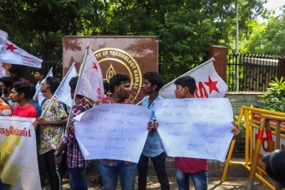 IIT-Madras suicide: Students protest, seek justice for Fathima