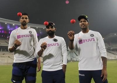 Lethal trio of Shami, Ishant & Umesh ready for pink Test
