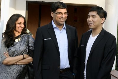 Anand eyes London through Tata Steel Chess tournament