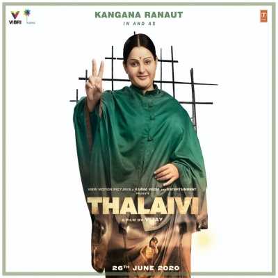 Kangana: 'Thalaivi' a massive scale film, can't release on OTT