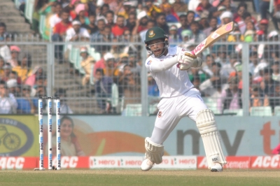 One-off Test: Rahim double ton puts B'desh in driver's seat