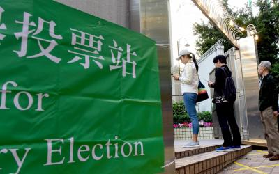 HK votes on 2nd day of weekend primary