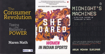 Of India's tech hiccups, understanding consumer revolution, celebrating triumphs of Indian sportswomen (Books This Weekend)
