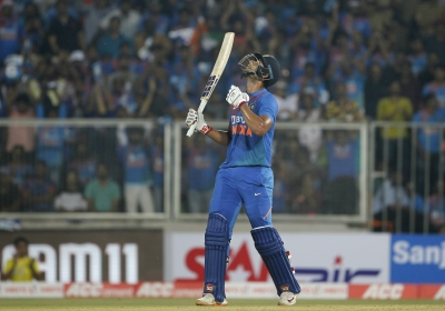 Ind-WI 2nd T20I: Dube leads with fifty as India post 170/7