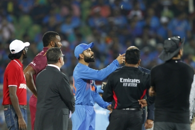 3rd T20I: Windies win toss, elect to field against India