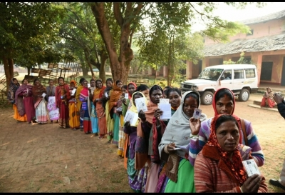 11.85% polling in Jharkhand till 9 a.m. (Lead)