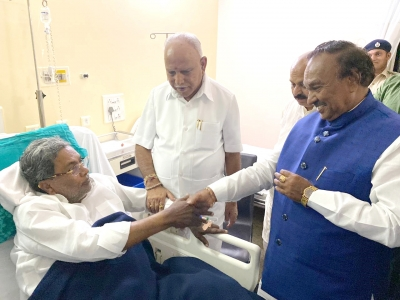 Karnataka CM wishes speedy recovery of Siddaramaiah